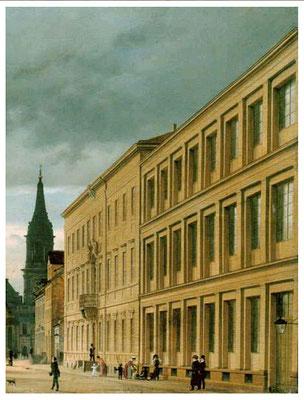 Am Gewerbeinstitut wurde die Latte gegründet