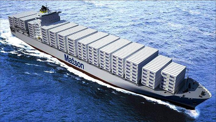 Abbildung 20: Geplantes Matson-Containerschiff mit LNG (Quelle GL)