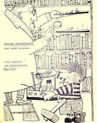 Praktikum, aus der Ordenszeitung 1960 (Ordner  1960_Wiking_Modelle bearb)