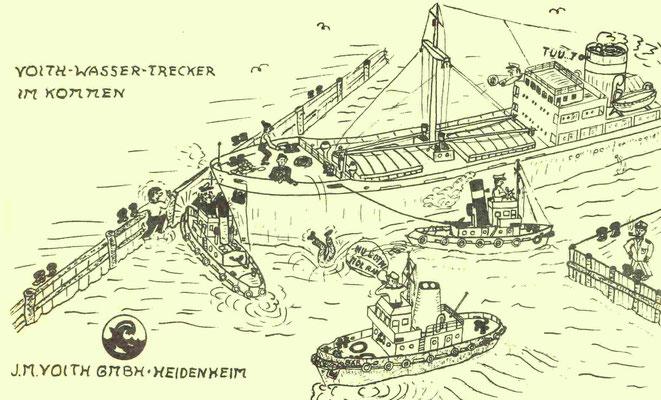 Werbung für Voith in der  Ordenszeitung  1966 (Quelle Latte)