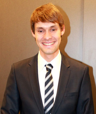 Abbildung 20: Sebastian Greshake erhielt den 1. Preis  (Foto Dr. Hochhaus)