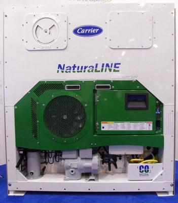 Abbildung 9: 2011 hat Carrier Kälteaggregate mit CO2 als Kältemittel eingeführt (Foto Dr. Hochhaus)
