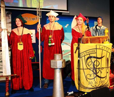 2014, Ordensfeste der Harburger Latte  (Foto Dr. Hochhaus)