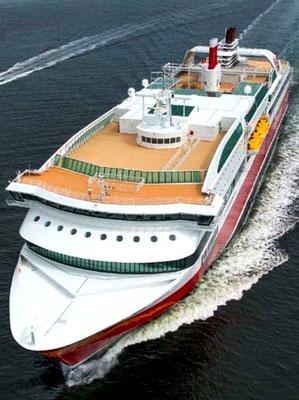 """Abbildung 18:  Fährschiff  """"Stavangerfjord (Quelle Rolls-Royce)"""