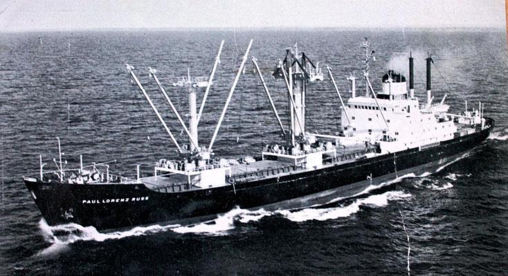 Nr. 85: Paul Lorenz Russ, 1966 von der Deutschen Werft als Bau Nr. 816 abgeliefert