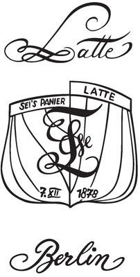 Abbildung 5: Der Zirkel der Latte 1879  (Quelle Latte)