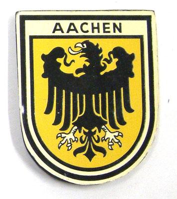 Abzeichen der Kurmarkgrafschaft Aachen 1958  (Quelle Latte)
