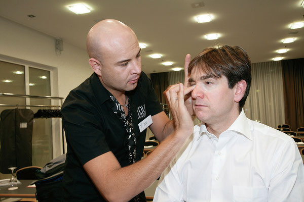TV-Make-Up Gilles Tschudi © www.mauribeauty.com