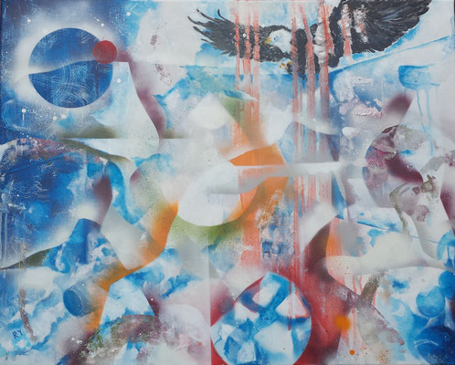 Open Window, Acryl , 100 x80, 2020