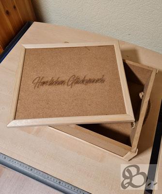 Holzwerk Peter Stoiber - handgemachte Geschenkbox aus MDF