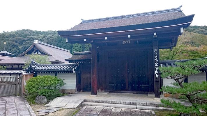 世界文化遺産の苔寺