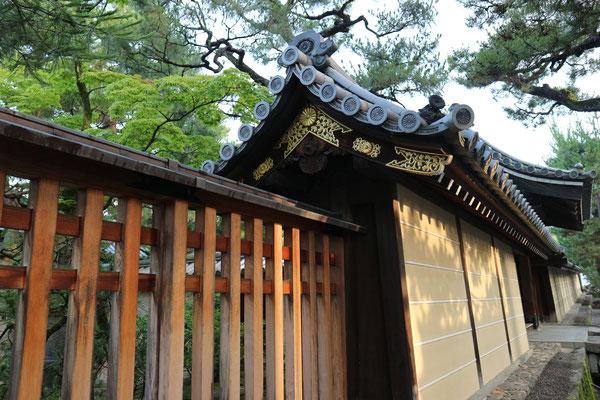 「狩野元信寺」霊雲院土塀 四派の一つ