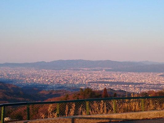 京都市内側