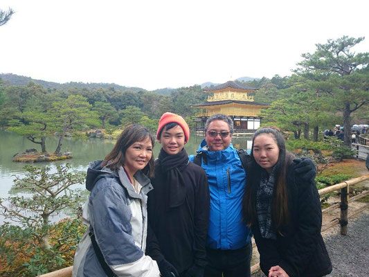 Kinkakuji Temple, the Golden Pavilion