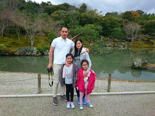 Tenryuji  Sogen-chi Pond in Arashiyama