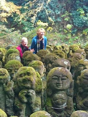 Otagi Nenbutsuji Temple, 1200 rakan stone statues