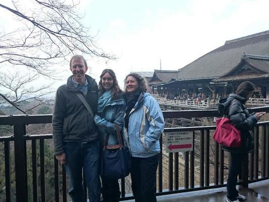Kiyomizu-dera Temple, wooden stage