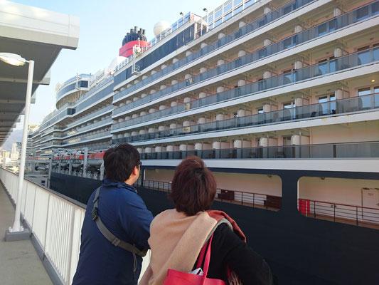 あこがれの豪華客船の旅