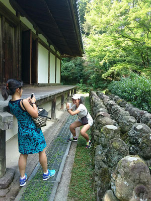 Otagi Nenbutsu-Ji i over 1,200 stone figures Rakan-sama