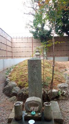 紫式部の墓所