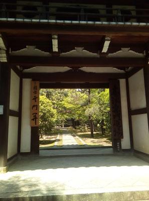 龍翔寺。大徳寺派の修行専門道場