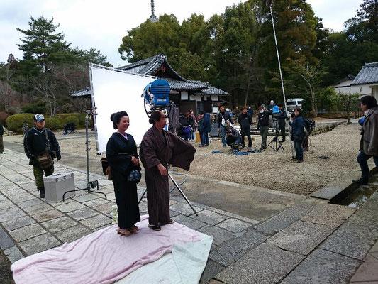 仁和寺での一コマ