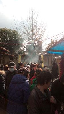 弘法さん修行時の像