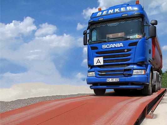 """Die Mobile"" - Low-Cost-Straßenfahrzeugwaage"