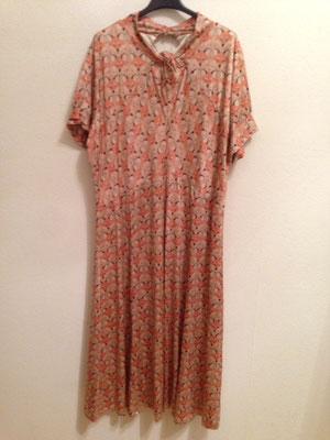 Kleid mit Füchsen  Gr 50