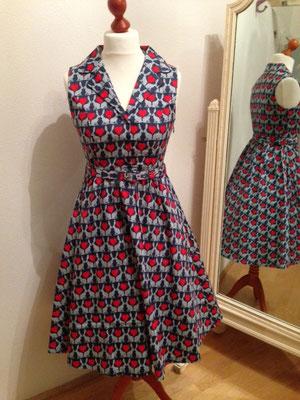 Kleid mit süßem Hasenmotiv, Baumwolle