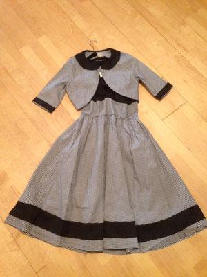 Kleid mit Jäckchen im 50er Jahre Stil, Gr 36