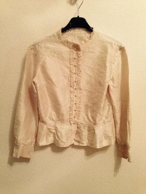Vintage Bluse, weiß