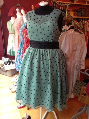 Polka Dotts Kleid  Gr 46,  65€
