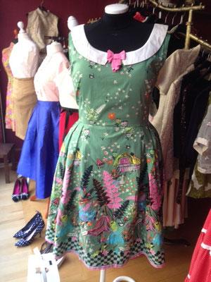 Kleid im 50er Jahre Stil, Plus Size