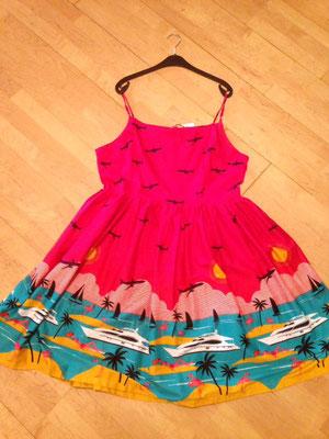 Kleidchen mit Flugzeugen, Gr 46