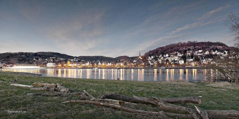 Skyline Linz am Rhein