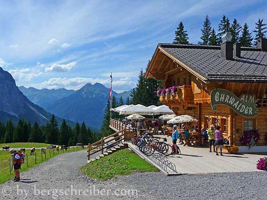 Ehrwalder Alm (1.502 m); Quelle: bergschreiber.com (15.03.2017)