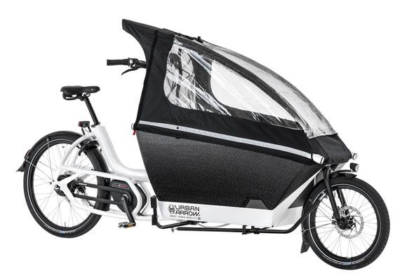 Urban Arrow Family Regenverdeck für Kinder - Cargo e-Bike Zubehör 2019