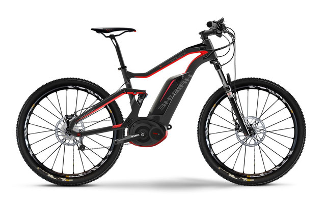 Haibike: e-Mountainbikes aus Carbon