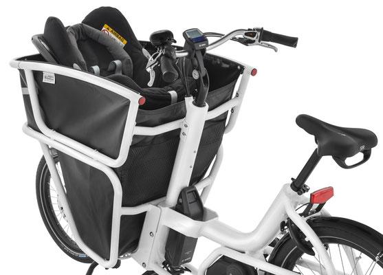 Urban Arrow Shorty Babysitz - Cargo e-Bike Zubehör 2019