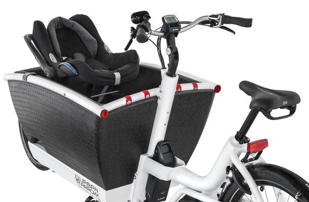 Urban Arrow Family Babyschale - Cargo e-Bike Zubehör 2019
