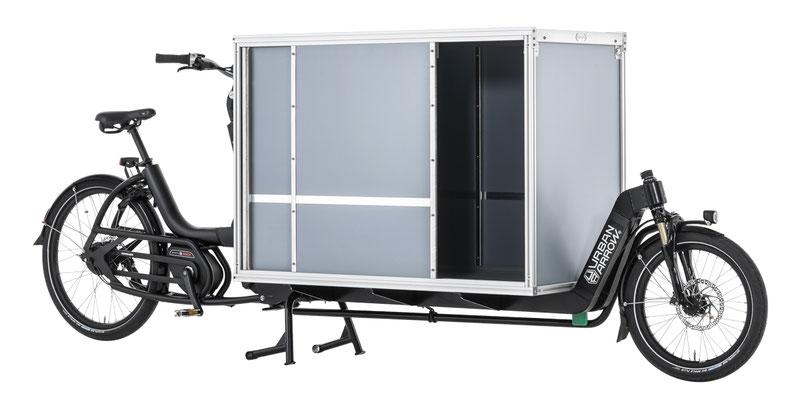 passendes Cargo e-Bike Zubehör zum Urban Arrow Cargo L, Sliderbox zweiseitig, 2019