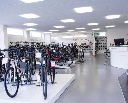 große Speed-Pedelec Markenvielfalt in der e-motion e-Bike Welt Dietikon