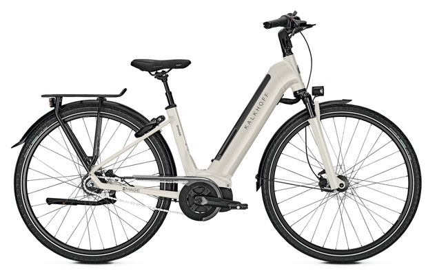 Kalkhoff Image Move I8 City e-Bikes 2018 weiss