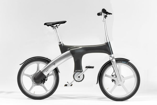 Mando Footloose IM e-Bike dunkelgrau