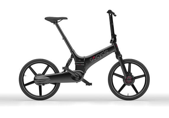 Gocycle GX Klapp e-Bike in schwarz