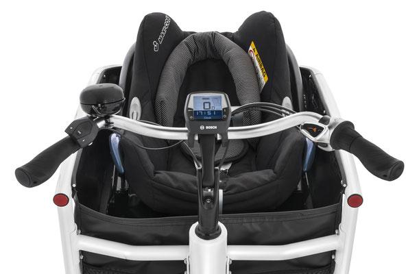 Urban Arrow Shorty Kindersitz - Cargo e-Bike Zubehör 2019