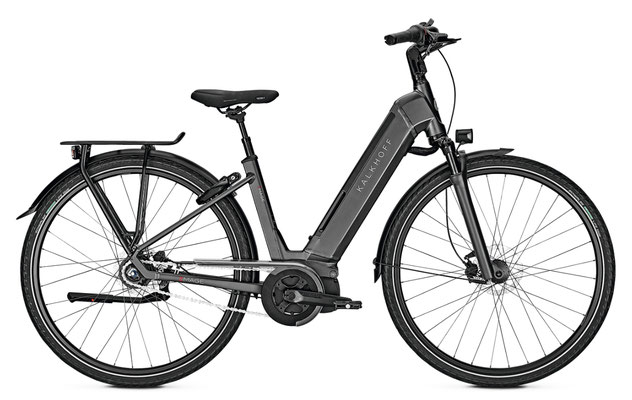 Kalkhoff Image Move I8 City e-Bikes 2018 schwarz