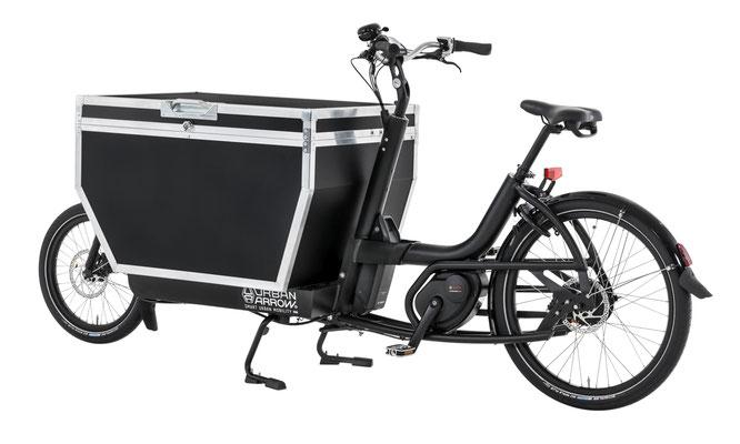 passendes Cargo e-Bike Zubehör zum Urban Arrow Cargo L, Flightcase schwarz, 2019