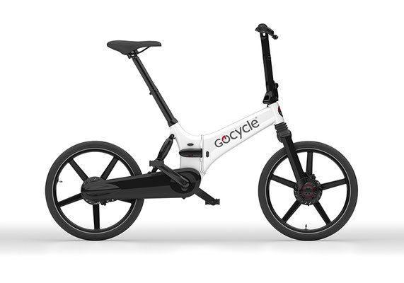 Gocycle GX Klapp e-Bike in weiß